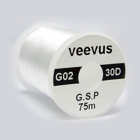 Veevus 30 Denier GSP White Thread