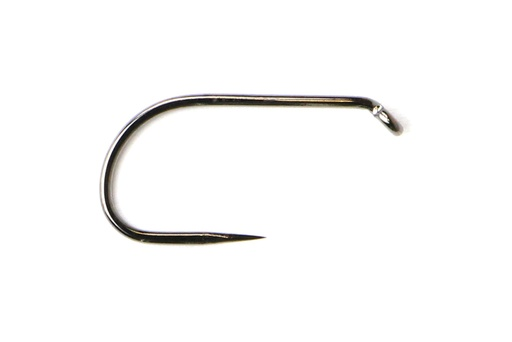 FM 5075 Short Shank Hook, Barbless, Black Nickel