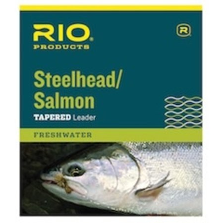 Rio Steelhead/ Salmon Tapered Leader, Glacial Green