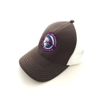 RTFF Logo Trucker Cap, Bark