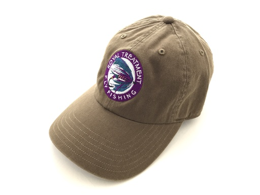 RTFF Logo Single Haul Cap, Saddle