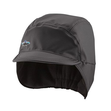 Patagonia Men's WR Shelled Synchilla Cap, L/XL, Forge Grey