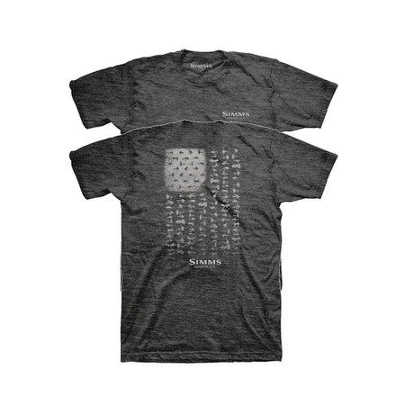 Simms USA Flies T-Shirt