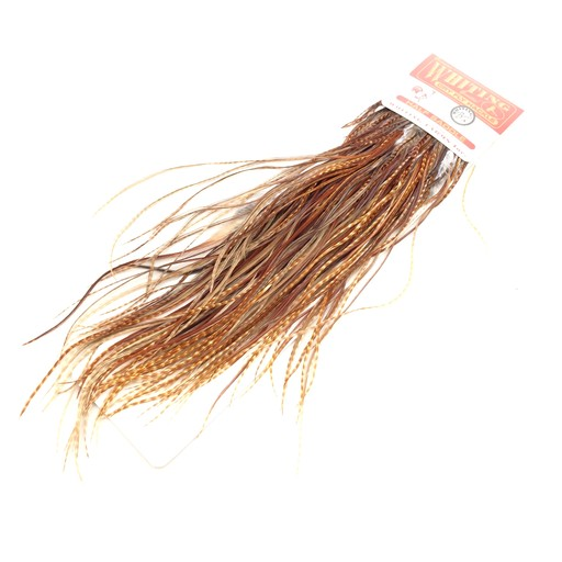 Whiting Rooster Dry Fly 1/2 Saddle Bronze