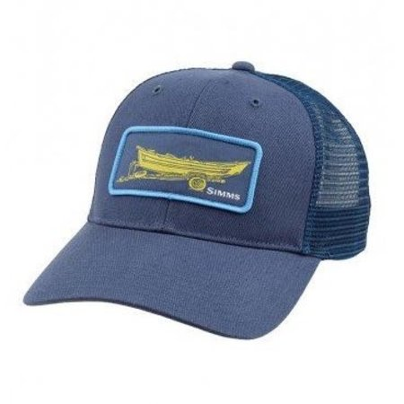 Simms High Crown Patch Trucker Hat