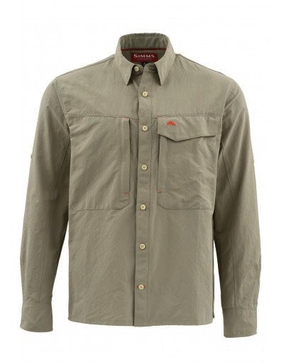 Simms Guide Solid LS Shirt