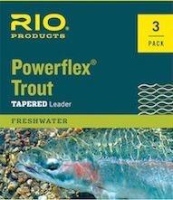 Rio Powerflex Trout Leader 3 pack