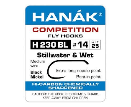 Hanak H 230 BL Nymph/Wet Fly Hook