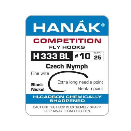 Hanak H 333 BL Czech Nymph/Scud Hook