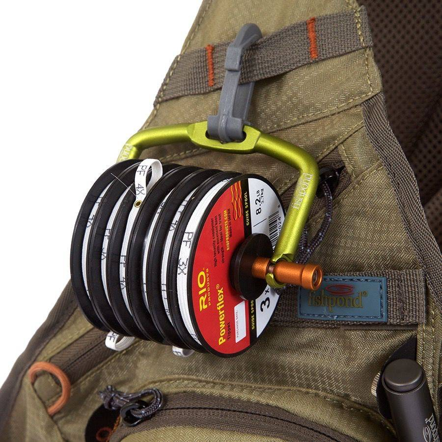 Fishpond Headgate Tippet Holder, Lichen