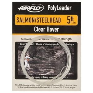 Airflo PolyLeader Salmon/Steelhead, 10 ft., Clear Hover