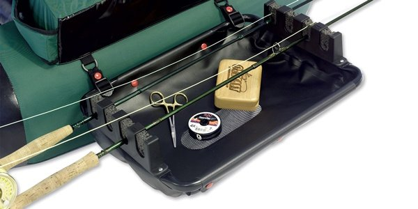 Outcast Float Tube Rod Rack