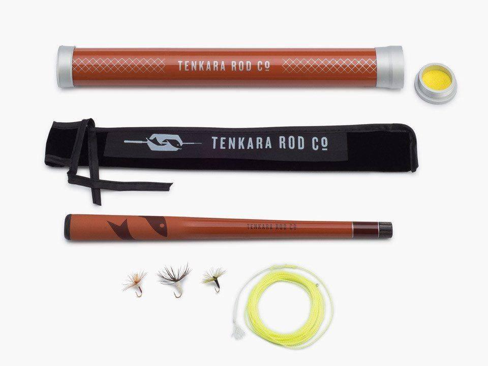 Mini Sawtooth Package, Tenkara Rod