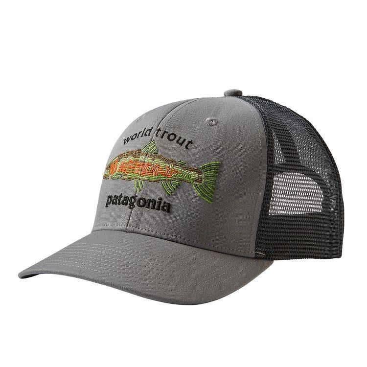 Patagonia World Trout Fishstitch Trucker Hat Patagonia World Trout  Fishstitch Trucker Hat 0af969ebce1