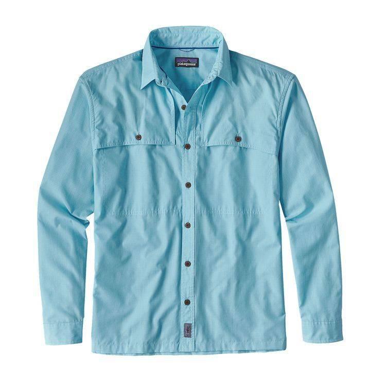 Patagonia Men's LS Island Hopper II Shirt