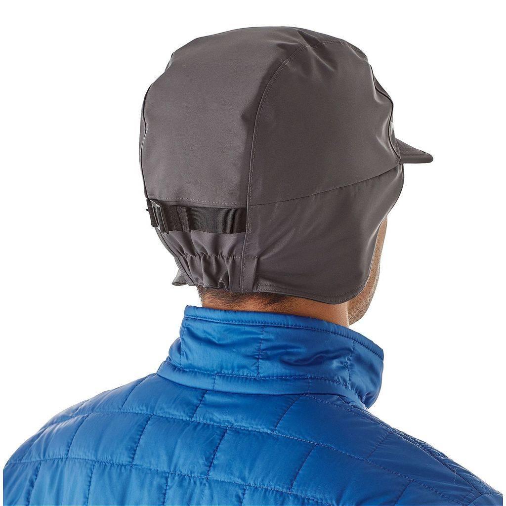 Patagonia Men's WR Shelled Synchilla Cap, L/XL, Forge Grey