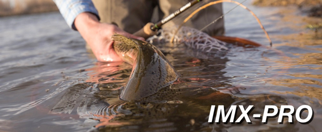 G Loomis IMX Pro Fly Rod Fish Release