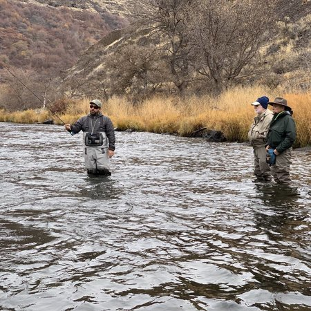 Introduction to Fly Fishing Class - Deschutes River