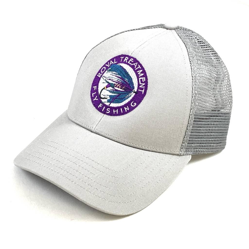 RTFF Logo Trucker Cap, Granite