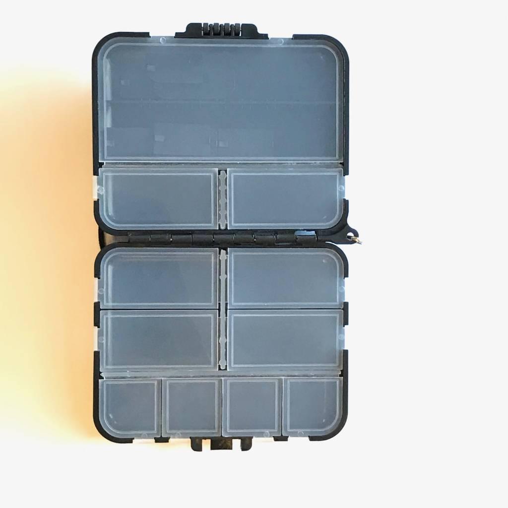Black Compartment Box