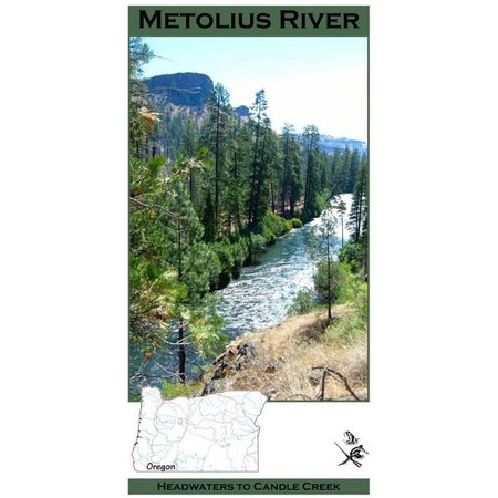 Metolius River Map