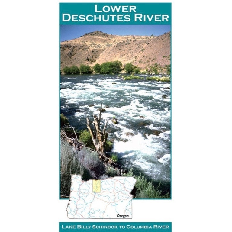 Lower Deschutes River Map