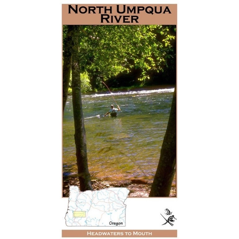North Umpqua River Map