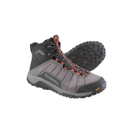 Simms Flyweight Wading Boot, Rubber Sole