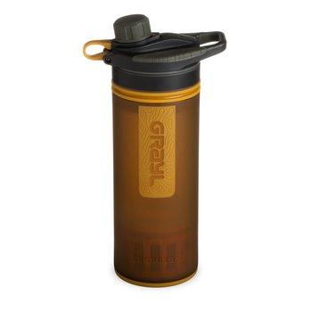 The Grayl Geopress Bottle Amber