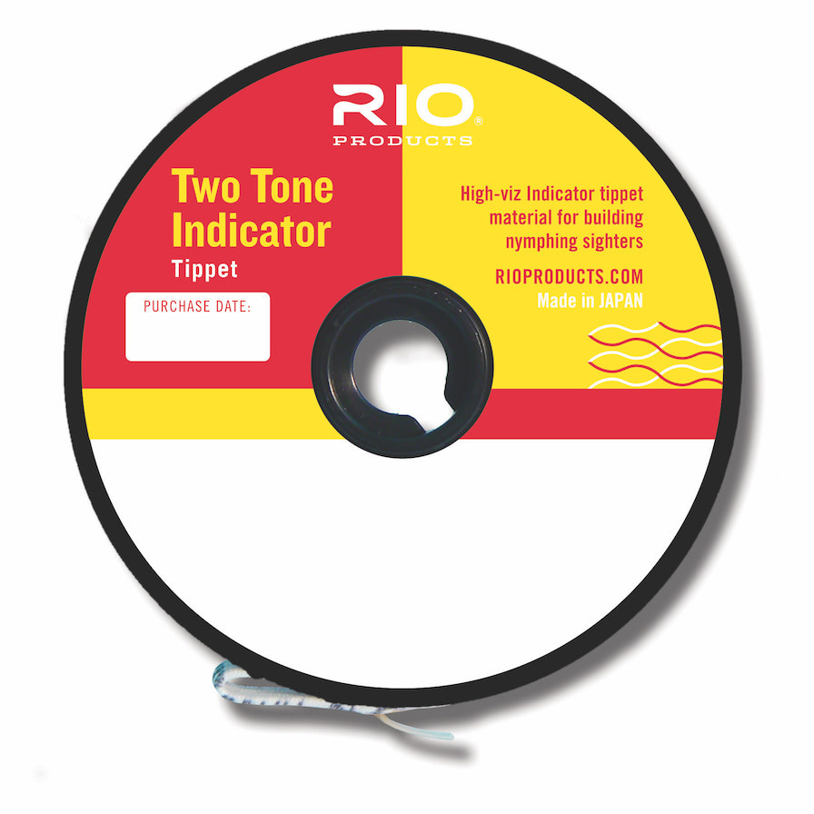 RIO Two Tone Indicator Tippet Pink/Chartreuse
