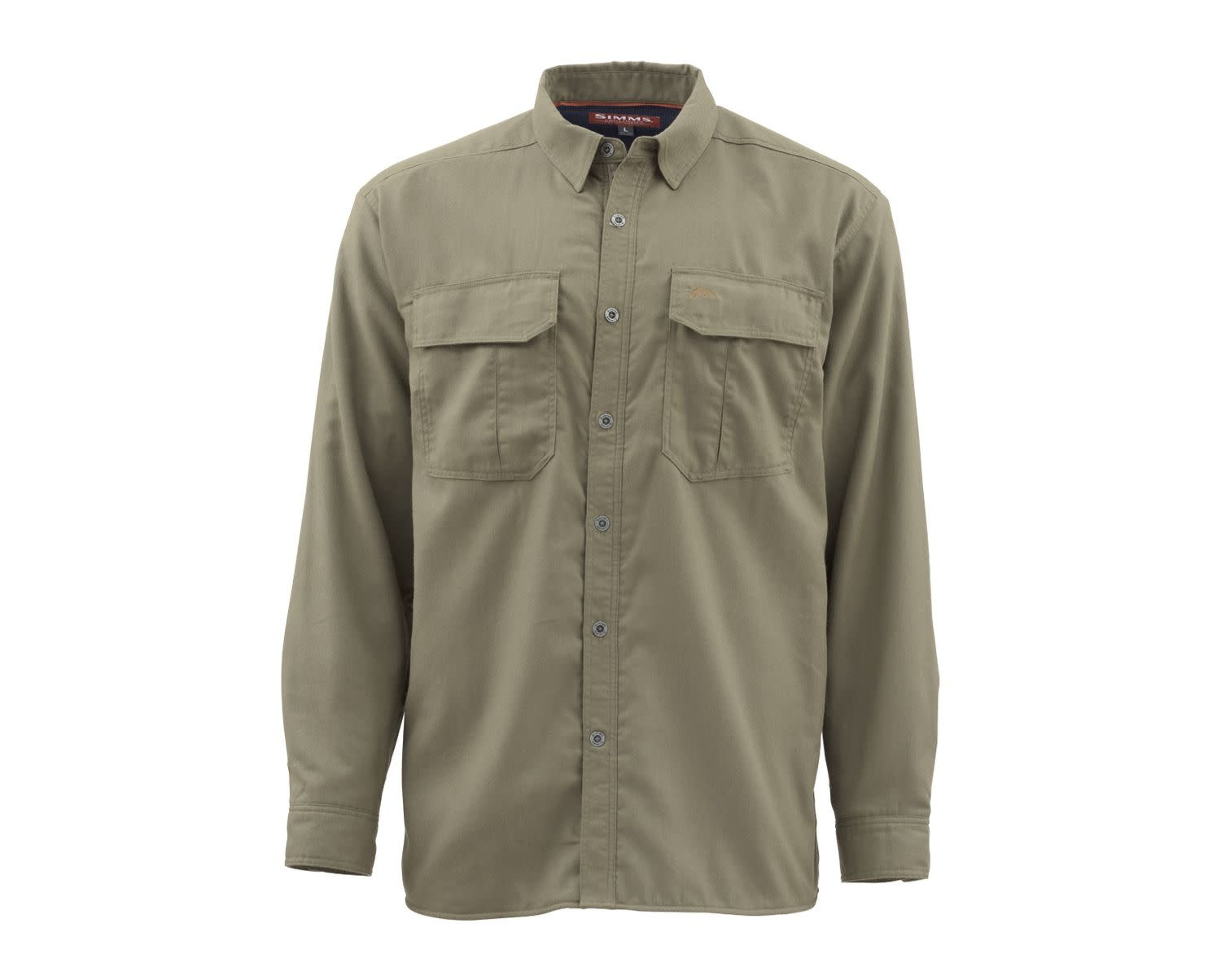 Simms Coldweather Shirt Dark Stone