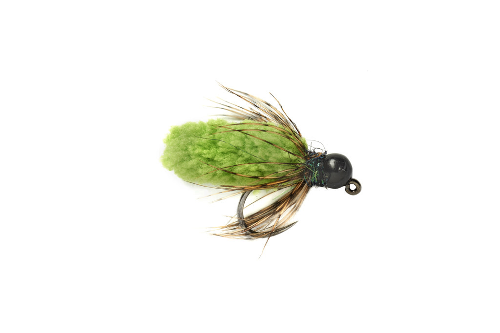 Mop Fly Chartreuse- Sz 14- 3.8mm
