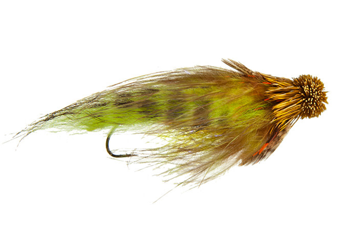 Rowell's Sticky Sculpin Olive Tube