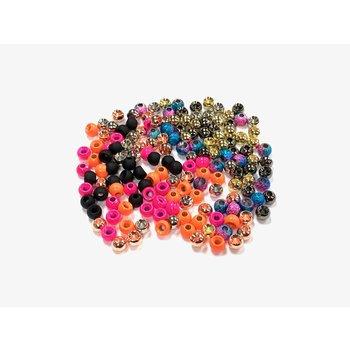 Plummeting Tungsten Beads