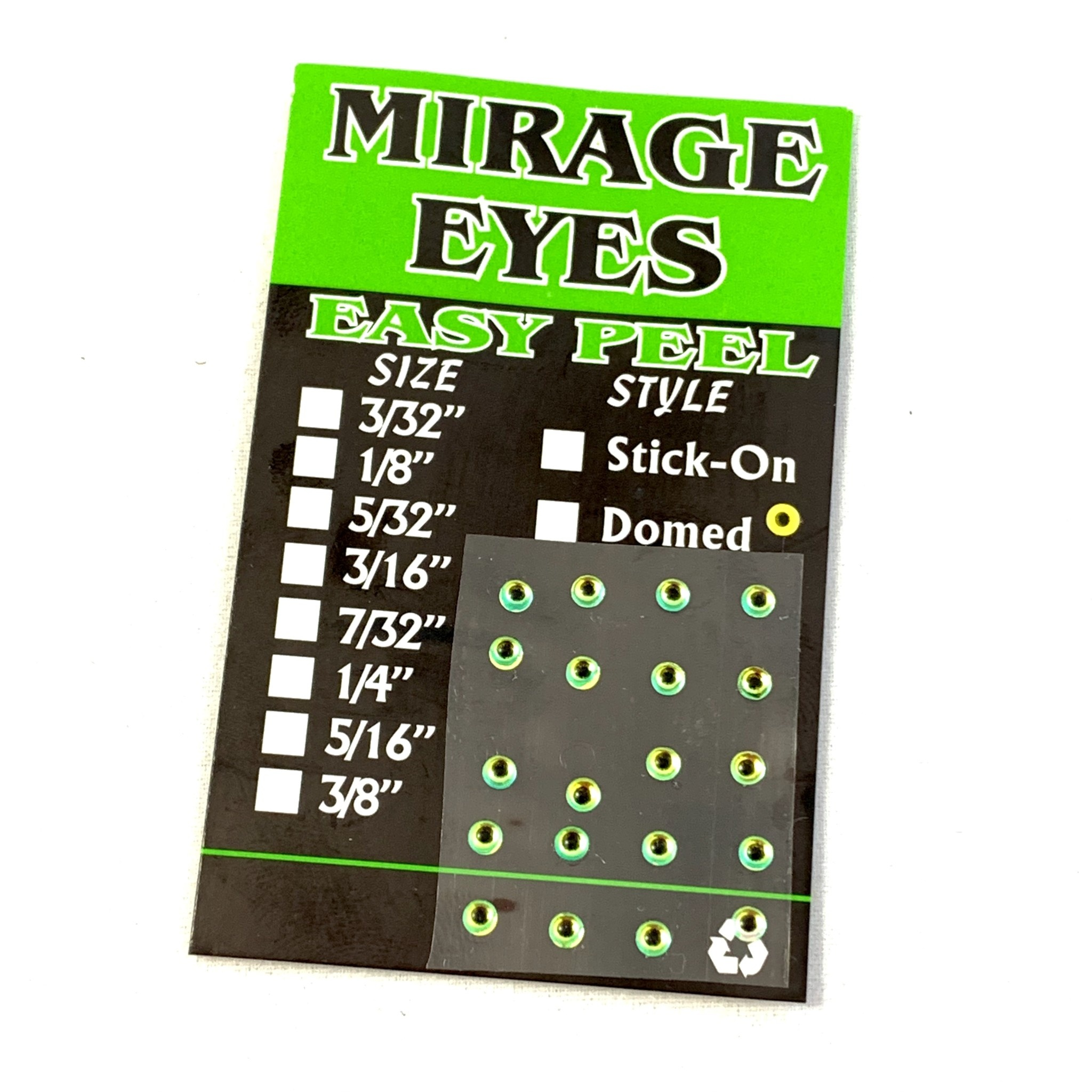 Hologram Dome Eyes, Mirage