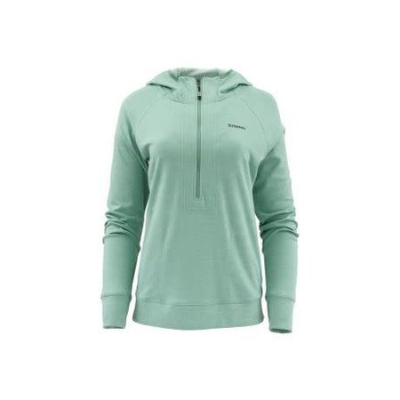 Simms Women's BugStopper Hoody, Seafoam Heather