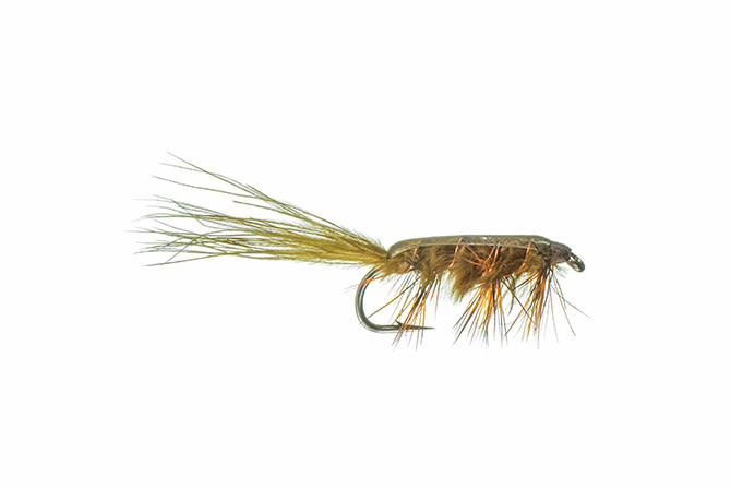 Rickards' Stillwater Nymph 1 - Olive 10