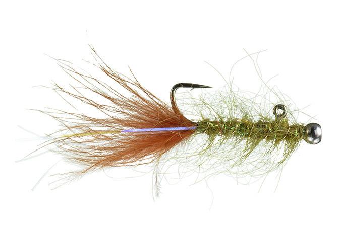 Rowley's Balanced Leech Olive Burnt Orange 10