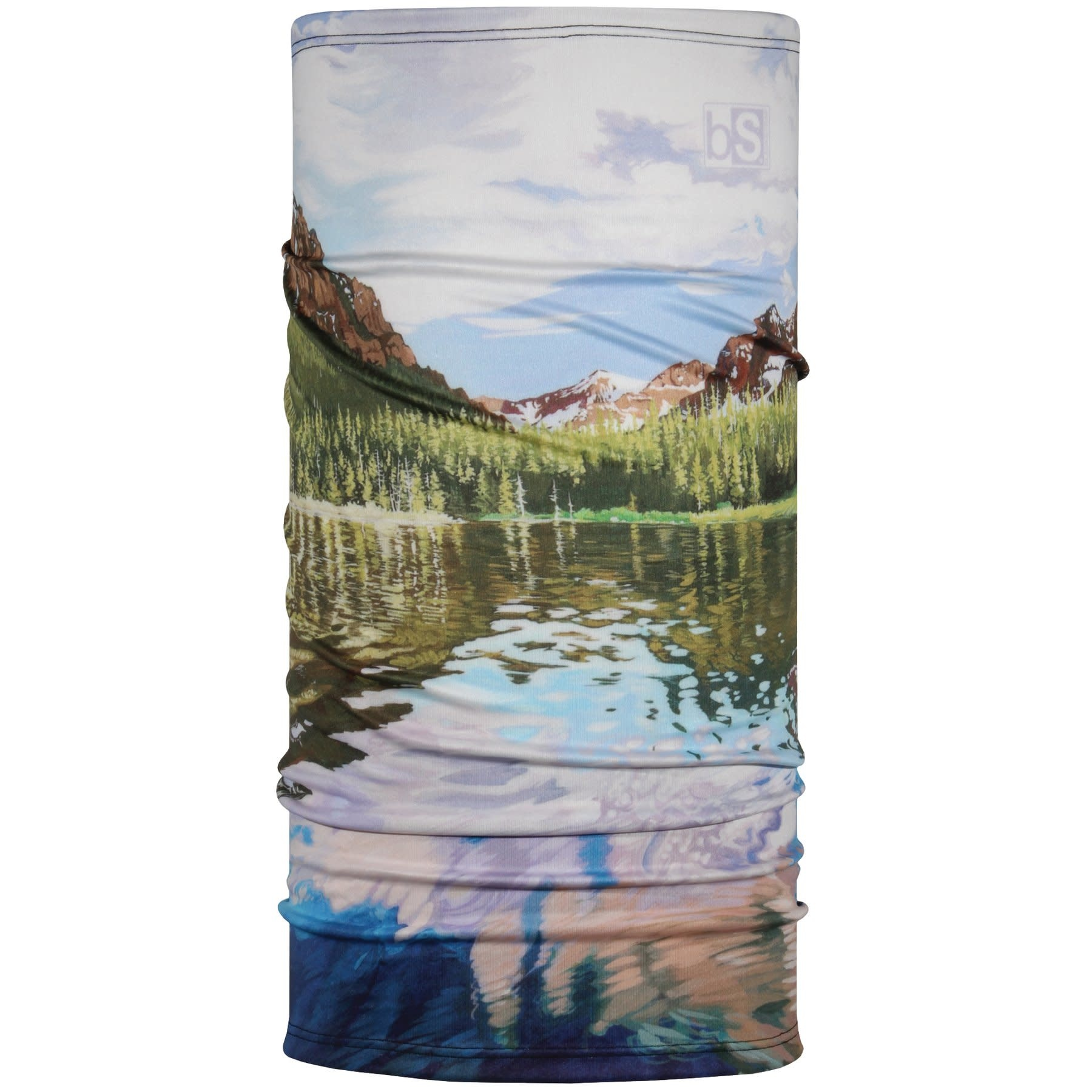 Blackstrap Industries Daily Tube Artist Series: Rachel Pohl Hyalite Reflection