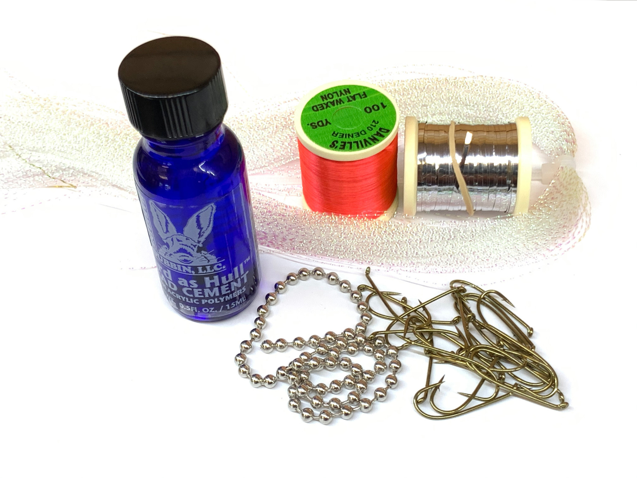 Silver Bitchen Fly Tying Kit