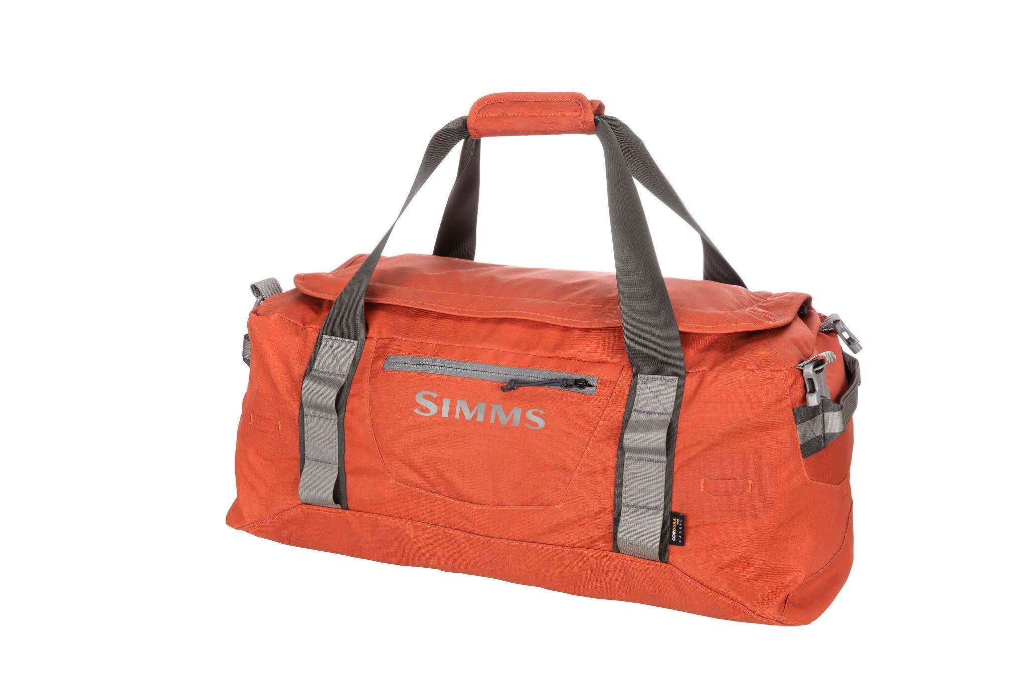 Simms GTS Gear Duffel - 50L Simms Orange