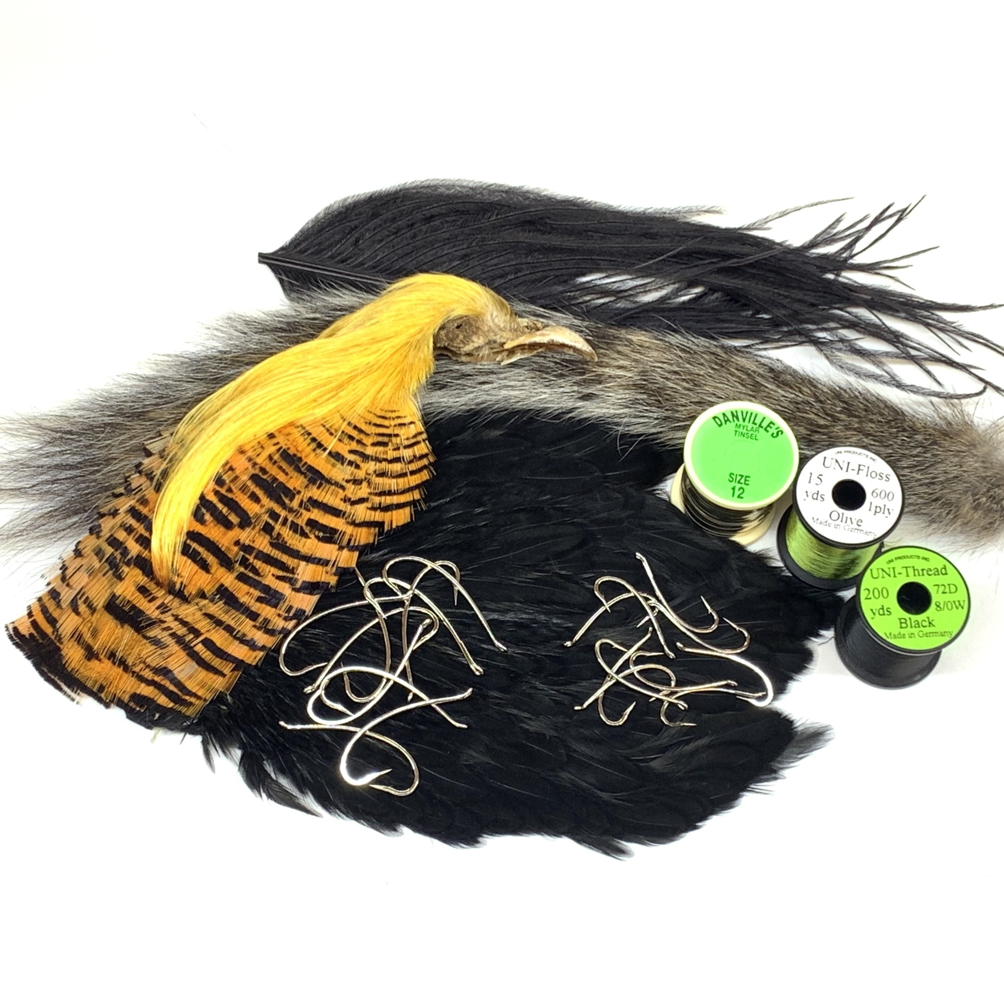 The Green Ant Fly Tying Kit
