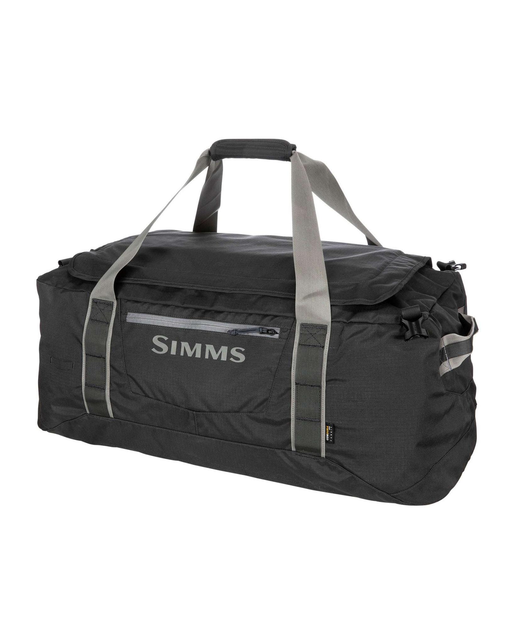 Simms GTS Gear Duffel 80L, Carbon