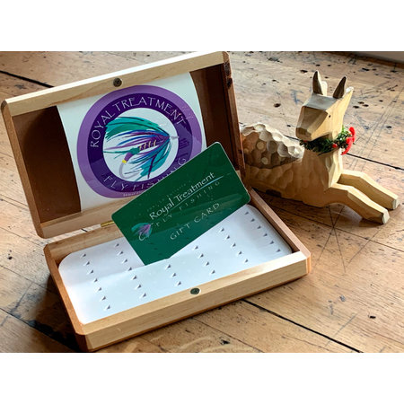 Royal Treatment Fly Fishing Gift Card Web Sales