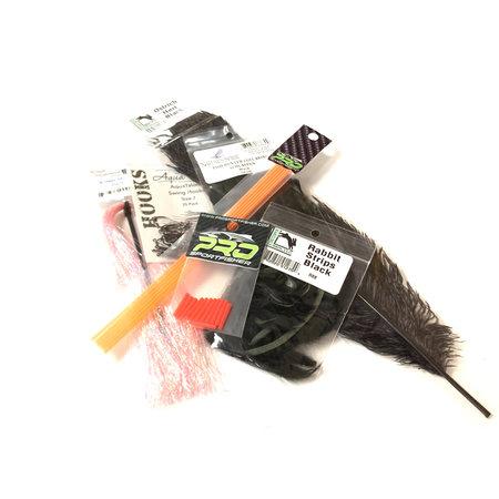 Conehead Leech Tube  Fly Tying Kit