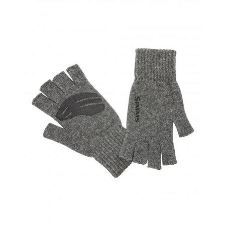 Simms Wool Half Finger Glove