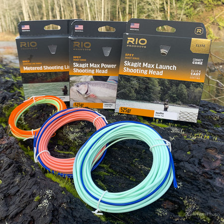 RIO Elite Skagit Max Launch, Aqua/Blue