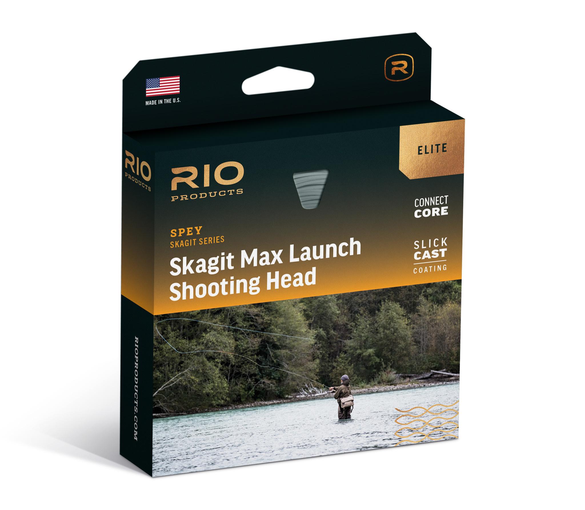 RIO Elite Skagit Max Launch, Aqua/Blue