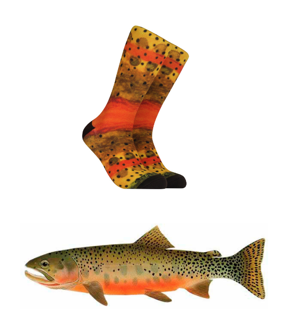 Reel Threads Fish Socks