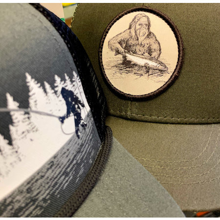 Squatch and Release Hat